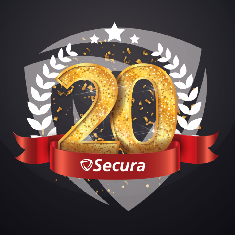 20 years card Secura