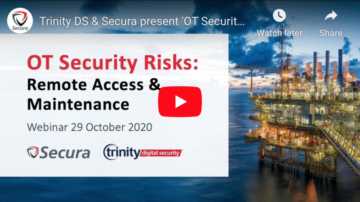 OT Security Risks Webinar 29 Oct