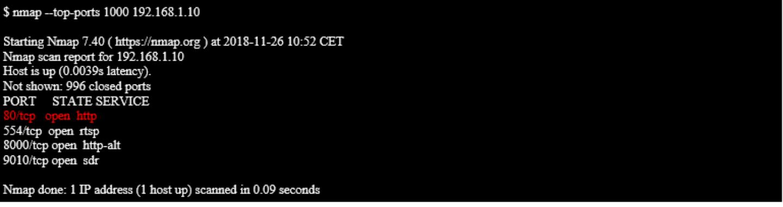 Printscreen 3 iot webcam