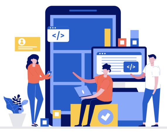 App coding design