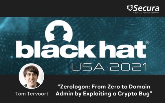 Black Hat USA 2021 Tom Tervoort speaker