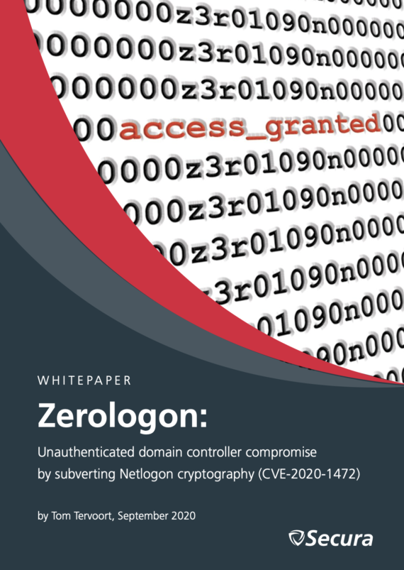 Zerologon whitepaper